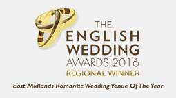 Nottingham romantic wedding venue award 2016