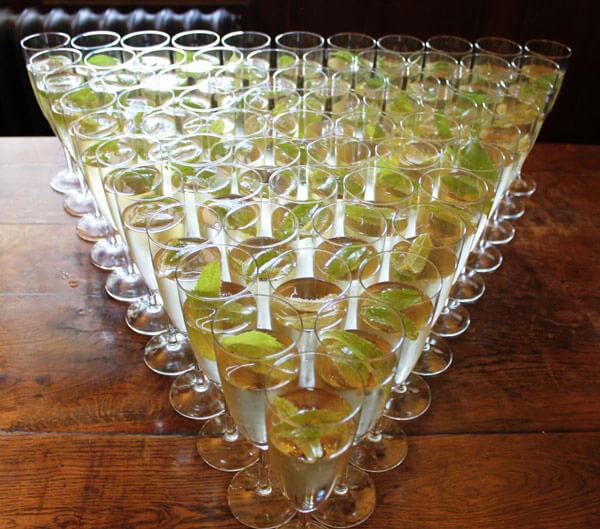 wedding wine and drinks